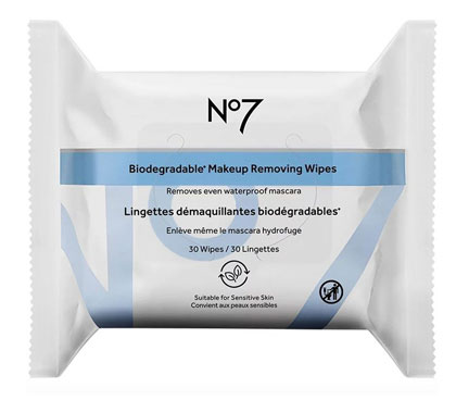 No7 Biodegradable Makeup Removing Wipes