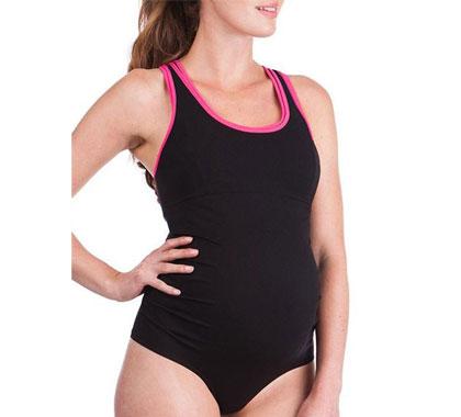 Sporty Maternity Swimming Costume