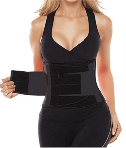 Camellias Women Waist Trainer Belt Body Shaper