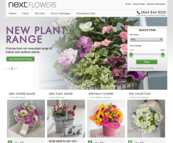 Next Flowers Promo Codes & Coupons