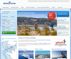 Brittany Ferries Promo Codes & Coupons