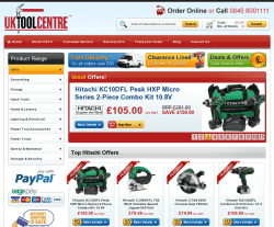 UK Tool Centre Promo Codes & Coupons