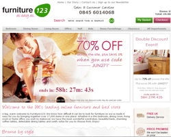Furniture 123 Promo Codes & Coupons