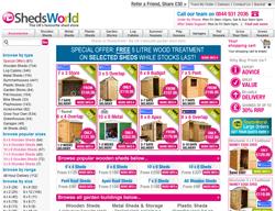 ShedsWorld Promo Codes & Coupons