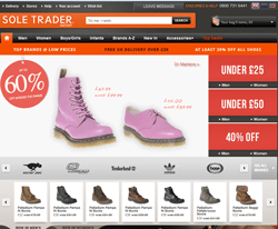 Sole Trader Outlet Promo Codes & Coupons