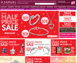 H Samuel Promo Codes & Coupons