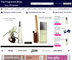 The Fragrance Shop Promo Codes & Coupons