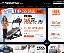 NordicTrack Promo Codes & Coupons
