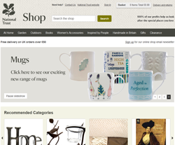National Trust Online Shop Promo Codes & Coupons