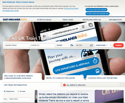 East Midlands Trainss Promo Codes & Coupons
