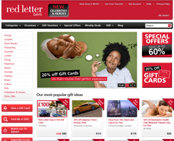 Red Letter Days Promo Codes & Coupons
