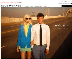 Club Monaco Promo Codes & Coupons