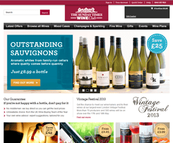 The Sunday Times Wine Club Promo Codes & Coupons