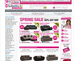 Sofas World Promo Codes & Coupons