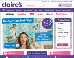 Claire's UK Coupons