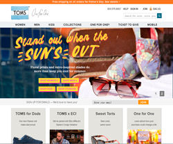 TOMS UK Promo Codes & Coupons