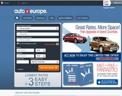 Auto Europe Canada Promo Codes & Coupons