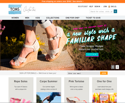 TOMS Canada Promo Codes & Coupons
