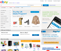 eBay Ireland Promo Codes & Coupons