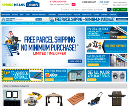 Lowe's Canada Promo Codes & Coupons