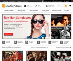 SmartBuyGlasses UK Promo Codes & Coupons