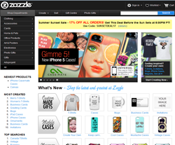Zazzle Canada Promo Codes & Coupons