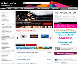 Ticketmaster UK Promo Codes & Coupons