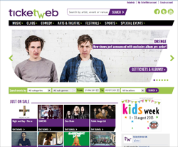 TicketWeb UK Promo Codes & Coupons