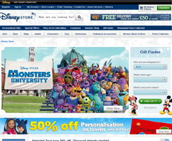 Disney Store UK Promo Codes & Coupons