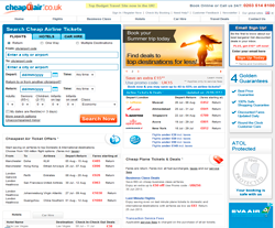 CheapOair UK Promo Codes & Coupons