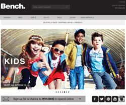 Bench Canada Promo Codes & Coupons