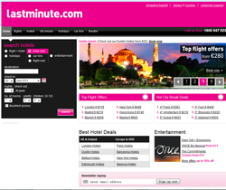 lastminute.com Ireland Promo Codes & Coupons