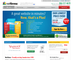Netfirms Canada Coupons