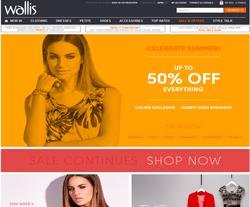 Wallis Promo Codes & Coupons