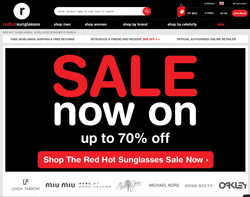 Red Hot Sunglasses Promo Codes & Coupons