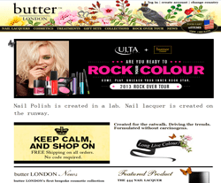Butter London Promo Codes 2018