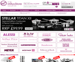 Millys Kitchen Store Promo Codes & Coupons