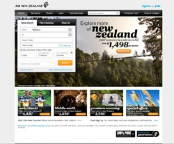 Air New Zealand Canada Promo Codes & Coupons