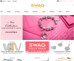 SWAG Jeweller Promo Codes & Coupons