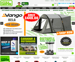 World of Camping Promo Codes & Coupons