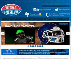 Football America UK Promo Codes & Coupons