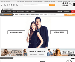 Zalora Hong Kong Coupons