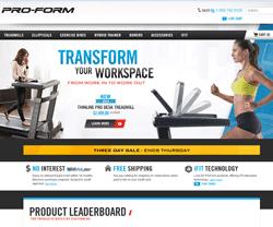 ProForm UK Promo Codes & Coupons