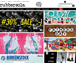 RubberSole Promo Codes & Coupons