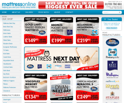 Mattress Online Promo Codes & Coupons