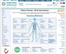 Express Chemist Promo Codes & Coupons