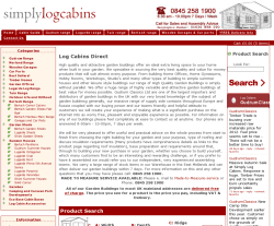 Simply Log Cabins Promo Codes & Coupons