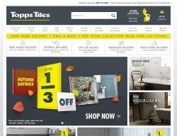 Topps Tiles Promo Codes & Coupons