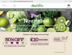 Abel and Cole Promo Codes & Coupons