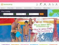 Eurocamp Promo Codes & Coupons